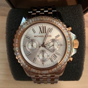 Michael Kors Accessories - Michael Kors 2 tone watch Gold and Sliver